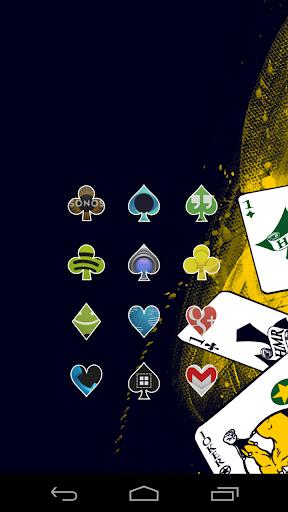 Aces White Icon Theme