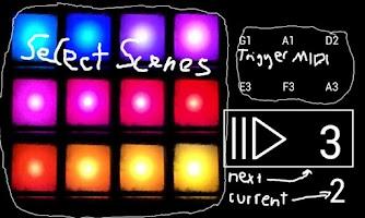 Screenshot of Maschine Scene Selector PAID