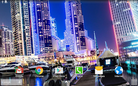 Dubai Night Live Wallpaper screenshot 9