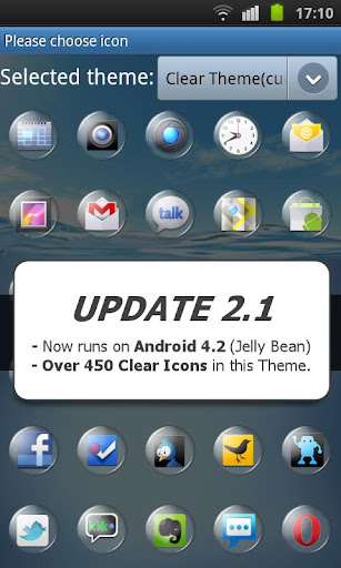 免費下載個人化APP|Clear Theme 4 GO Launcher EX app開箱文|APP開箱王