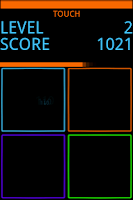 Screenshot of TouchGrid Lite