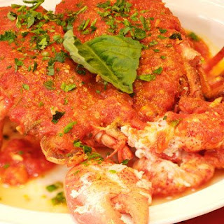 Lobster Fra Diavolo.