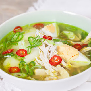 Chicken Vermicelli Noodles Soup