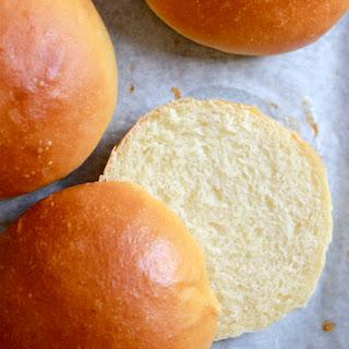 Light Brioche Hamburger Buns