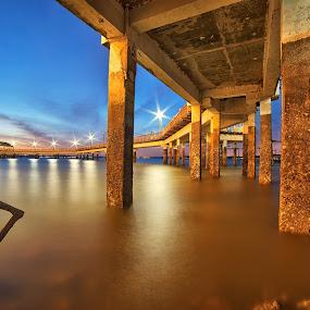 Changi Boardwalk by Kafoor Sammil - Buildings & Architecture Bridges & Suspended Structures ( changi boardwalk )
