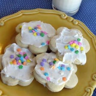 Aunt Gail's Sour Cream Sugar Cookies.