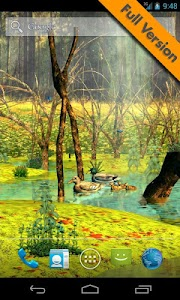 Ducks 3D Live Wallpaper FREE screenshot 2