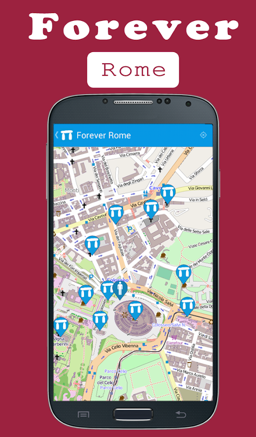 Forever Rome - Audio Guide Tour- screenshot