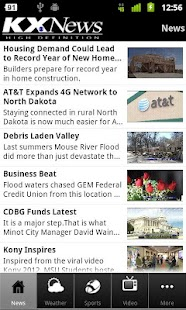 KX News Bismarck/Minot - screenshot thumbnail