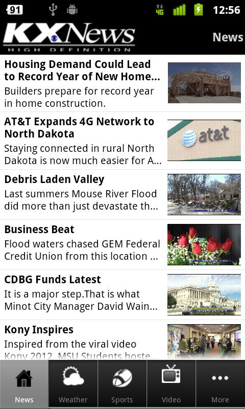 KX News Bismarck/Minot - screenshot