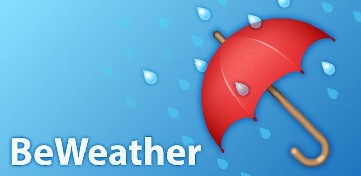 Скачать BeWeather - виджет плохой погоды