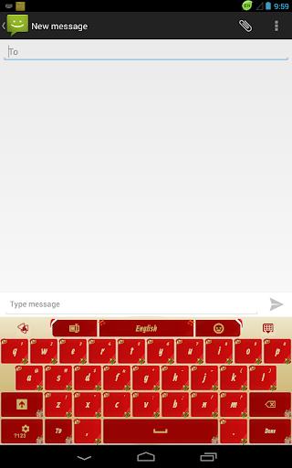無料娱乐AppのGOキーボードゴールドクリスマス|記事Game