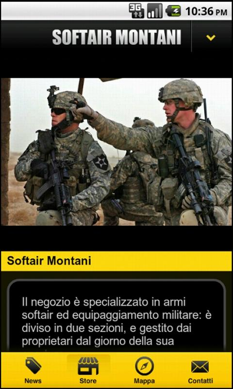 Softair Montani - screenshot