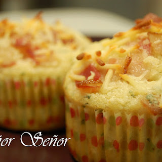 Bacon, Cheese, and Oregano Muffins.