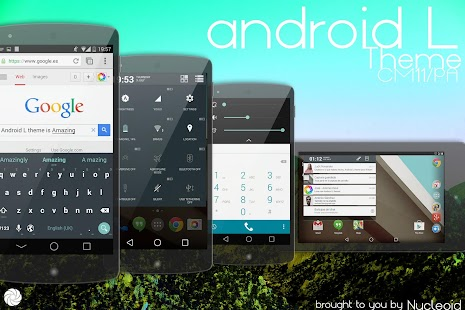 Android L Theme – CM11 PA one.i APK