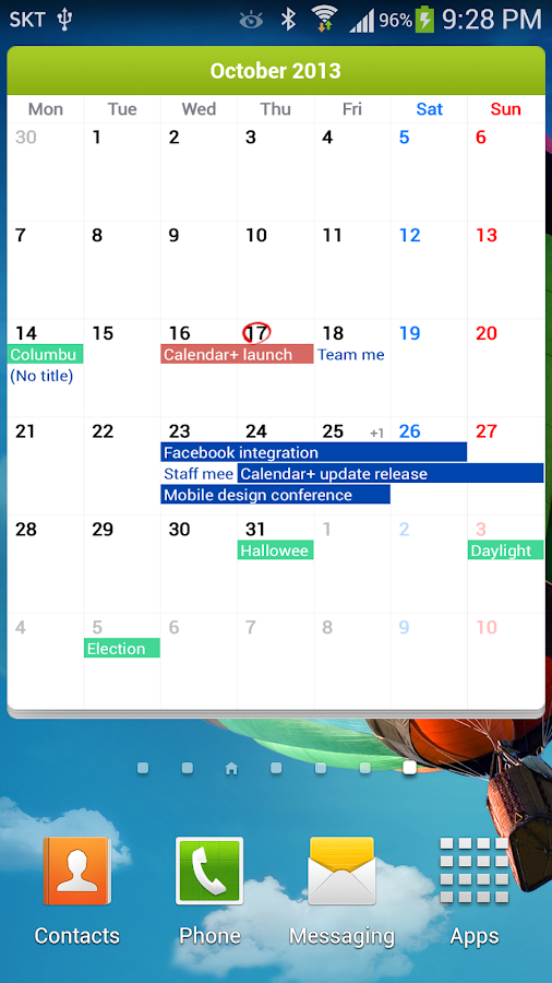 Calendar+ - screenshot