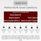 Snow Report for Perfect North icon