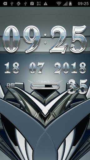 玩生活App|SILVERSUN Digital Clock Widget免費|APP試玩