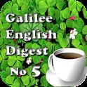 Galilee English Digest no5 icon