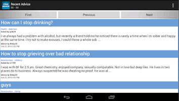 Screenshot of Advice MortalGuidance