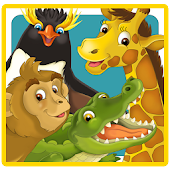 Zoo Cartoon Animals Puzzle