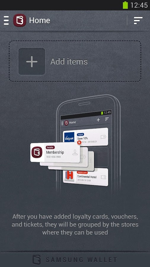 Samsung Wallet - screenshot