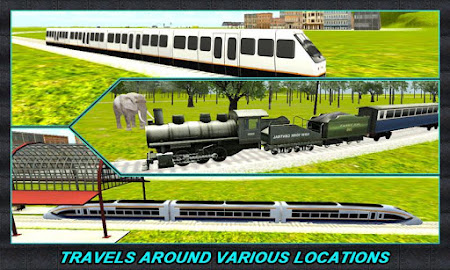 Real Train Driver Simulator 3D 1.0.3 screenshot 110727
