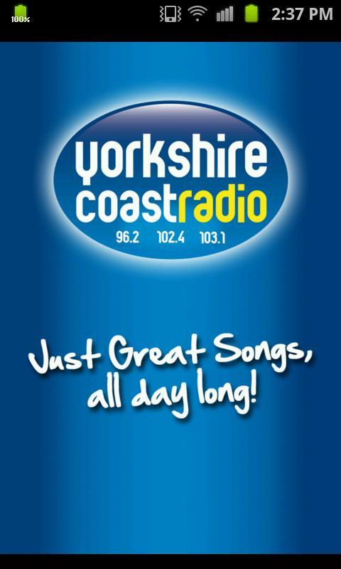 Yorkshire Coast Radio- screenshot
