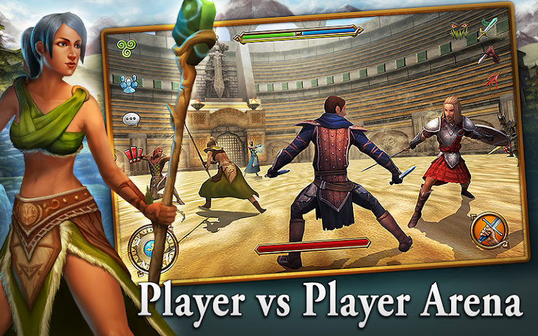 android 3D MMO Celtic Heroes Screenshot 4