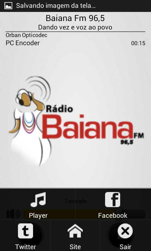 Baiana Fm 96,5- screenshot