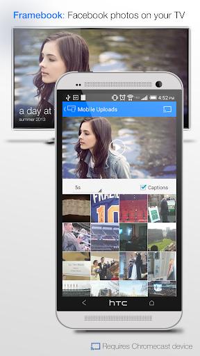 Framebook for Chromecast