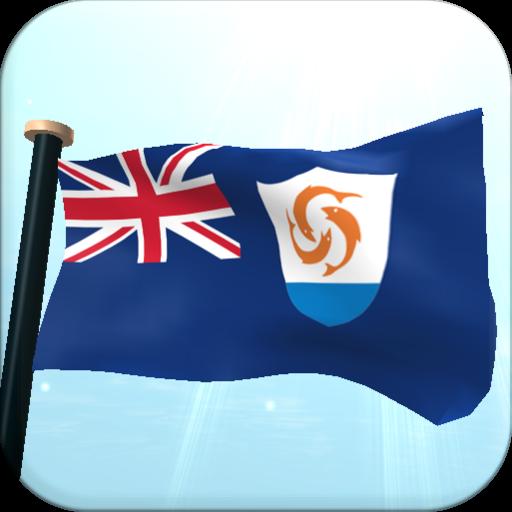 安圭拉旗3D免费动态壁纸 個人化 App LOGO-硬是要APP
