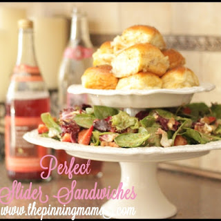 Perfect Turkey & Cheese Slider Sandwiches