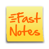 FastNotes Sticky Note Widget