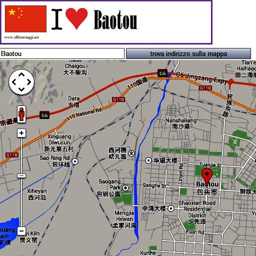 Baotou map