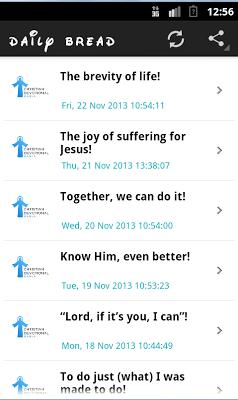 Christian Devotional Manna - screenshot