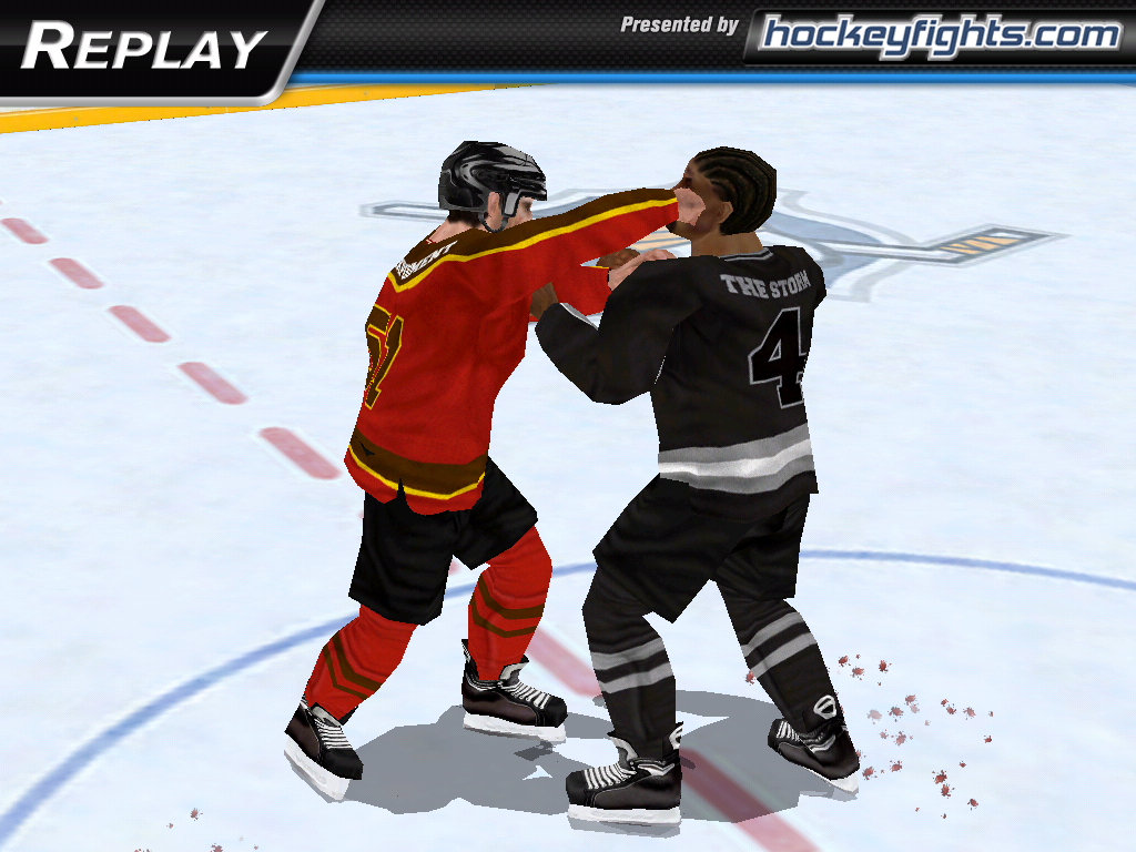 Hockey Fight Lite - screenshot