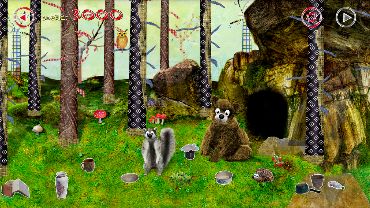 Animals for Kids Forest- screenshot