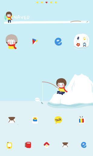Fishing dodol launcher theme