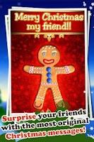 Screenshot of Talking Gingerbread Man Pro