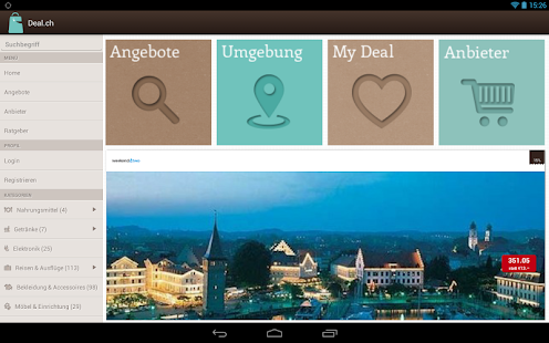 Deal.ch – Miniaturansicht des Screenshots