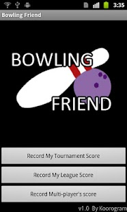 Bowling Friend : Score Keeper - screenshot thumbnail