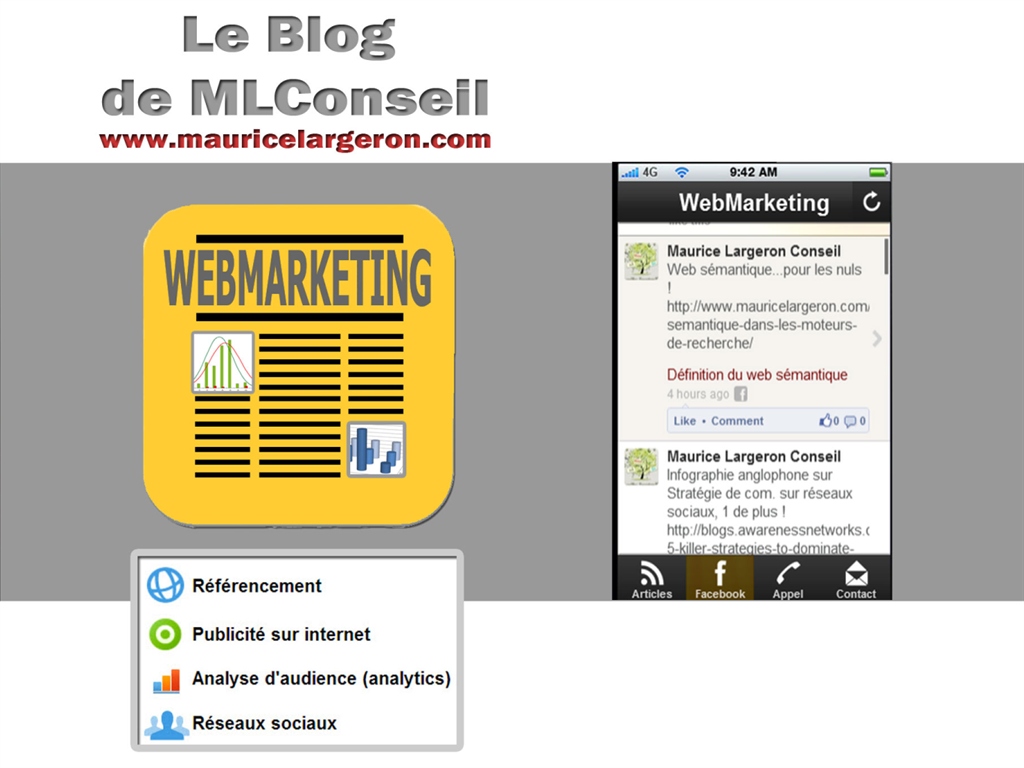 WebMarketing - screenshot