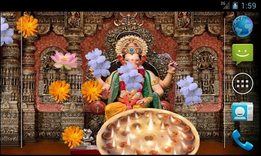 Ganpati Bappa Livewallpaper- screenshot thumbnail
