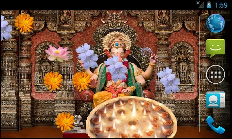 Ganpati Bappa Livewallpaper- screenshot