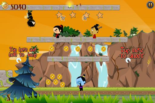 Ninja Gravity Run Super Rush