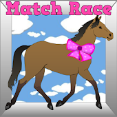 Horse Kids Game Match Race