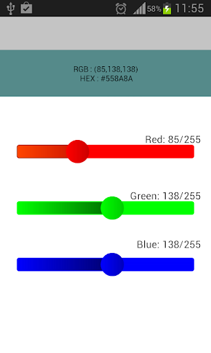 HTML CSS Color Picker