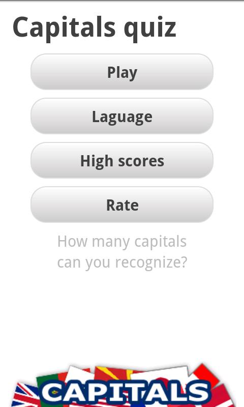 Logo Quiz - World Capitals- screenshot
