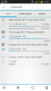 aTorrent PRO - torrent client- screenshot thumbnail
